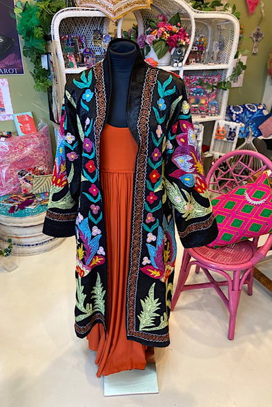 Magical Garden Suzani Jacket