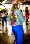 Musical Garden Denim Jacket - SFH Original