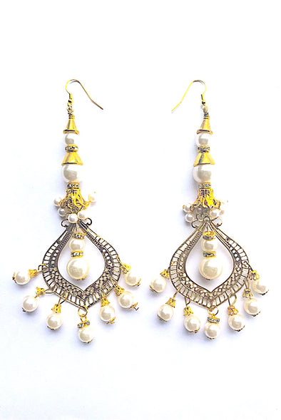 Magnificent Pearl - Gorgeous Glamour Earring Collection