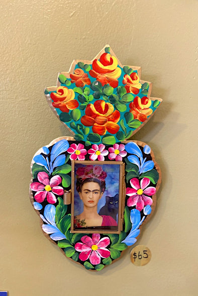 Frida Kahlo Heart Wall Hanging