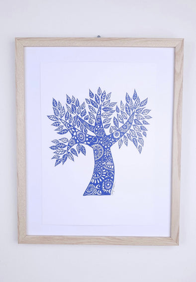 Talisman Print | Tree of Life | by Carys Martin Ceramics