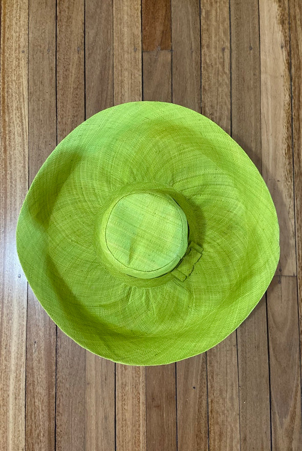 Made in Madagascar Hat - Lime