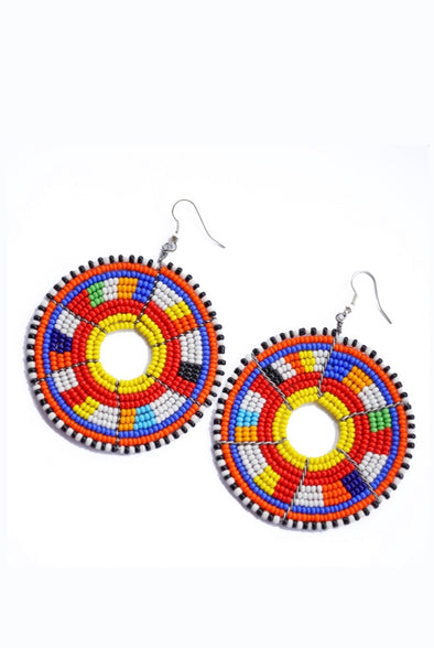 Zambilla African Earrings by Zambilla & Co