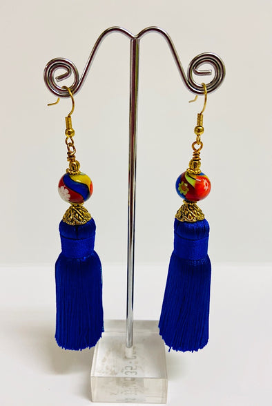 Elizabeth Earrings - by Bizou