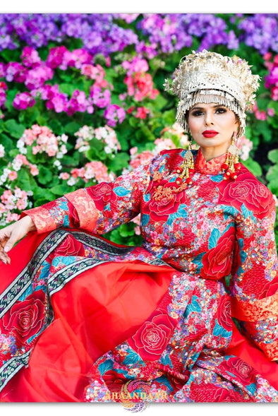 Elaborate Chinese Wedding Dress