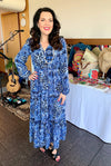 Python Blue Dress - Custom Design by SFH