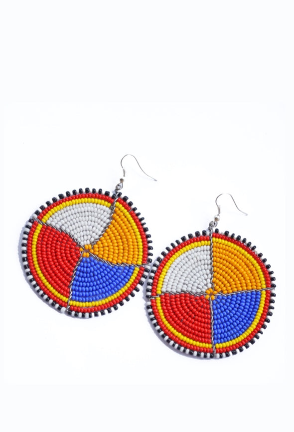 Zara African Earrings by Zambilla & Co