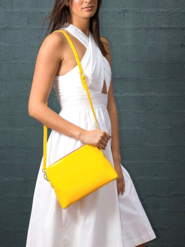 Ravello Bag in Yellow - Liv & Milly