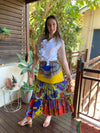 Ankara Ruffles Skirt - SFH Designs Original