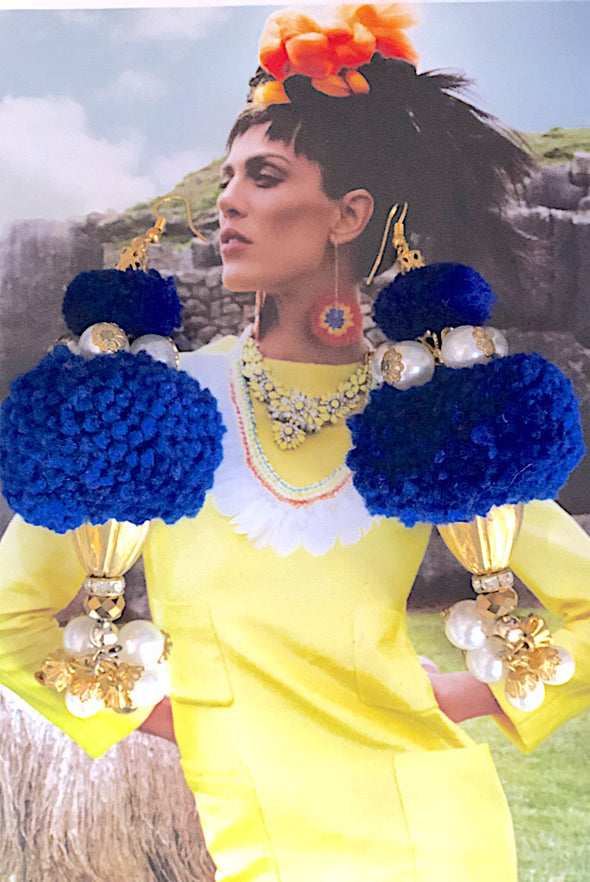 Sacred Valley Poms - Peruvian Poms Earring Collection