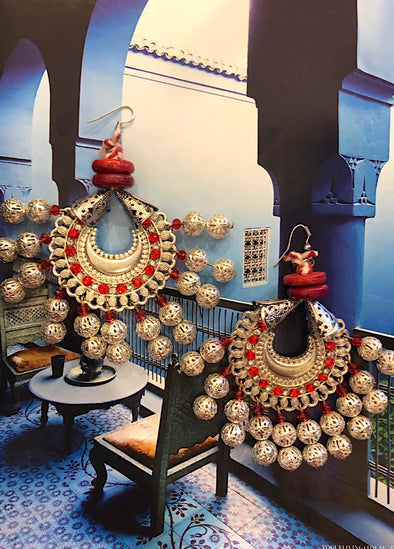 Red City - Moroccan Fantasy Earring Collection