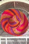 Made in Madagascar Hat - Orange, Purple, Pink & Lime