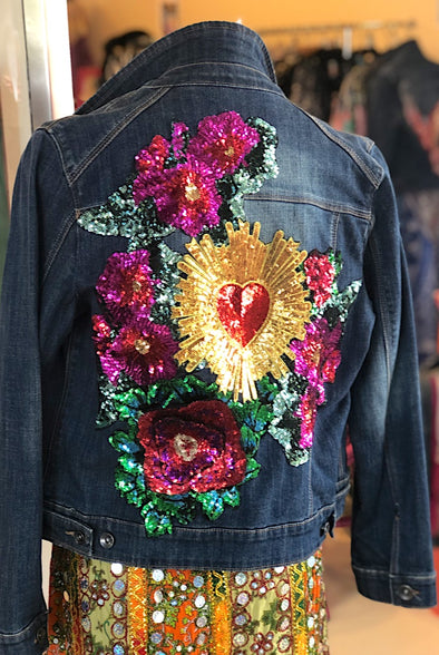 Sacred Garden Heart Custom Made Jacket
