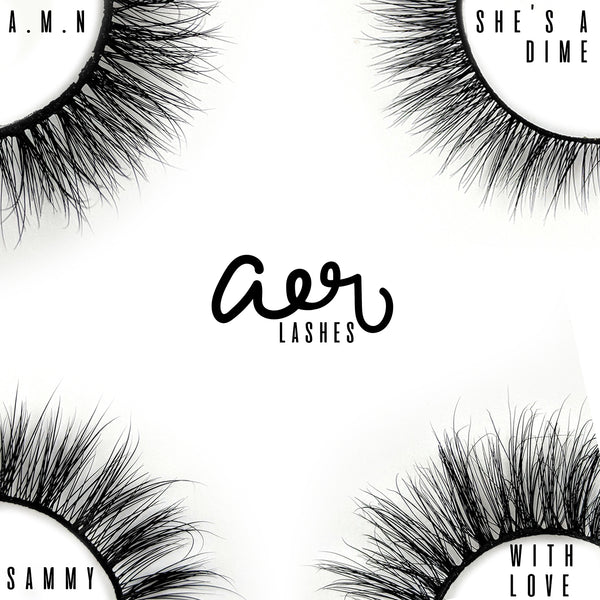 aer Lashes luxury mink lashes