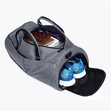 Casual Large Capacity Duffel Bag With Shoes Compartment