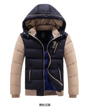 New listing 2016 Winter Brand Men Down Parkas Jackets Fashion Man Hooded Thick Warm Outdoors Outwear Overcoat Wadded Coat