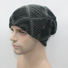 New Hot Winter Beanies Solid Color Hat Unisex Warm Grid Skiing Beanie Skull Knit Cap Hats Knitted Touca Gorro Caps For Men Women
