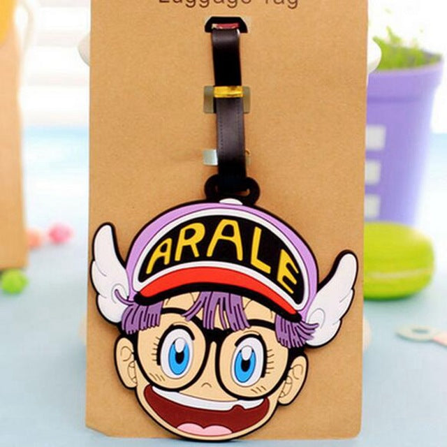 Cartoon Silica Gel Luggage Tag