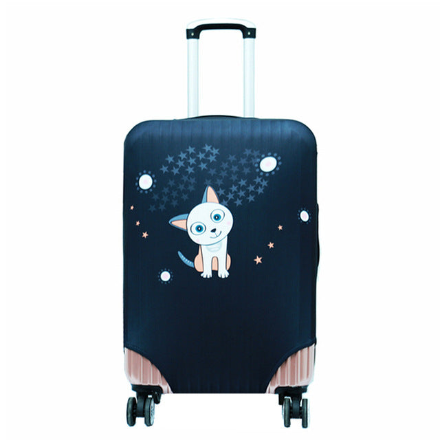 Trolley case Travel Luggage Dust cover Travel Accessories on Road Luggage Cover Protective Suitcase cover for 18 to 32inch