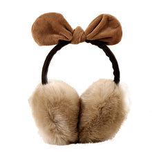 Winter Earmuffs For Women Warm Faux Fur Ear Covers Girl's Earlap Rabbit Ears Earflap Ladie's Cute Eartab Ears Muffs