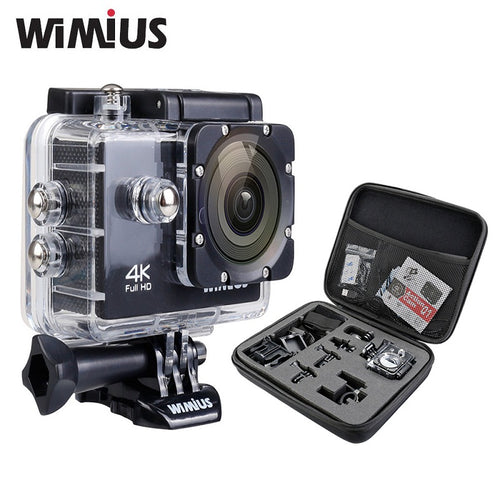 4K 1080P 60fps Action Camera Full HD 2.0