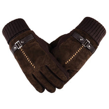 Patchwork Luxury Leather Gloves