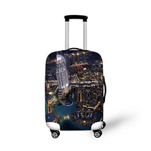 FORUDESIGNS Travel Luggage Cover Elastic Suitcase Protective Cover Luggage Trolley Rain Dirt-proof Streth Cover for Suitcase