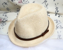 Travel Casual Line Belt Straw Hat