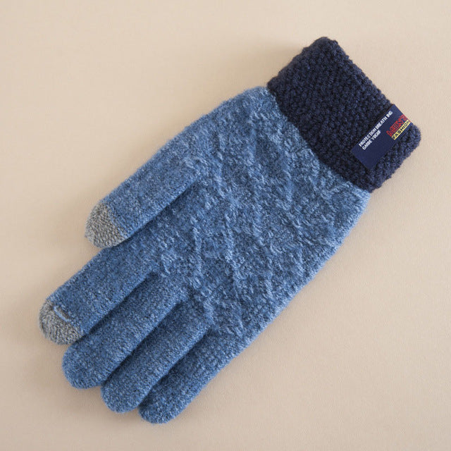 Cashmere Warm Knitted Gloves