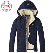 HTLB 2017 thicken winter Jacket Parkas men brand clothing male cotton Fleece Warm winter New top QualityTop down Parkas men