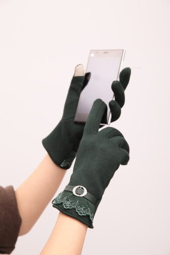 Screen Touch Gloves Winter Thick Warm Smart Texting Gloves