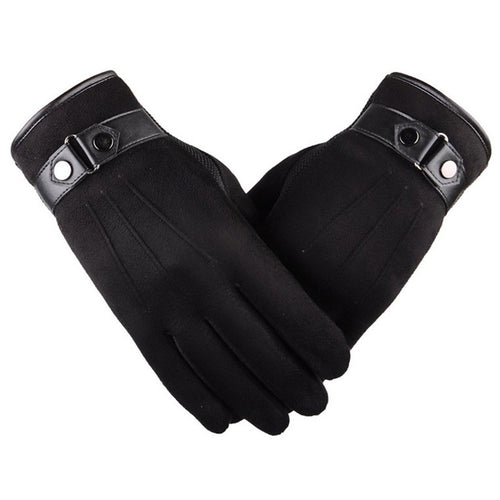 Artificial Suede Warm Cashmere Gloves