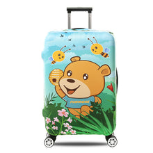 Luggage Cover Travel Luggage Suitcase Protective Cover for Trunk Case Apply to 19''-32'' Suitcase Cover Thick Elastic Perfectly