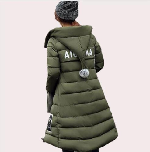 2017 Winter Down Jackets Women Winter Coats Hooded Long Thick Slim Female Parkas Plus Size 5XL casaco feminino inverno  YL019