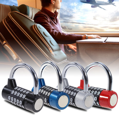 4/5 Digit Password Wide Shackle Combination Lock