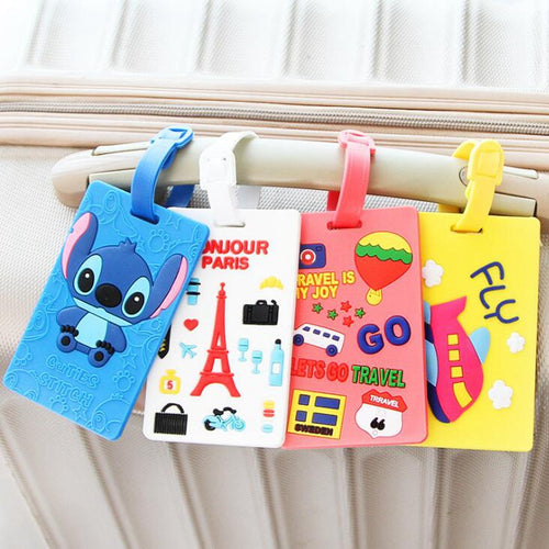 Cute Cartoons Silica Gel Luggage Tag