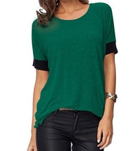 Comfy Loose Fit Short Cotton T-Shirt
