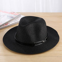 COKK Sun Hat Summer Hats For Women Men Unisex Straw Beach Panama Hat Bucket Hat Chapeau Femme Homme Travel Vacation Seaside New