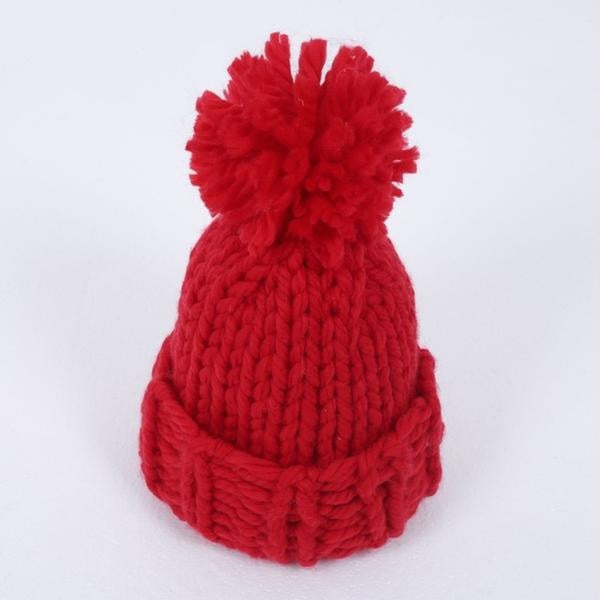 Knitting Wool Ball  Beanie