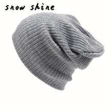 snowshine #5003  Men's Women Beanie Knit fashion Cap Hip-Hop Winter Warm Unisex Wool Hat free shipping