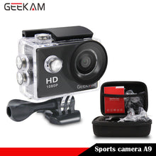 Sports DV Mini Cameras 1080P 15FPS 720 HD + 1 Case for Gopro Waterproof 30M Sport Action Camera Helmet Cam Mini Camcorders