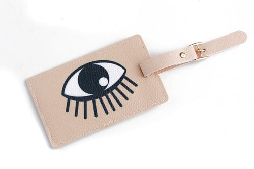 Creative PU Leather Luggage Tag