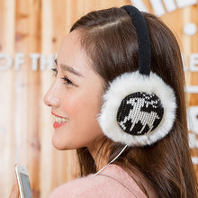 New Plush Female Winter Earmuff Warm Ear Muffs Headphones Girls Earmuffs Music Earphone Ear Warmers Protector For Headphones