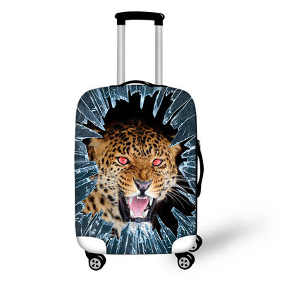 Wholesale Travel Luggage Protector Covers Ice Giraffe Printed Cover for 18