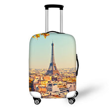 FORUDESIGNS Galaxy Eiffel Tower Print Travel Luggage Cover Anime Dustproof Suitcase Protective Covers Durable Travel Accessories