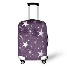 Fashion colorful design travel luggage cover thick protective suitcase covers elastic 18-30 inch anti-dust trolley case covers