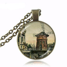 Eiffel Tower with Ball Chain Necklace