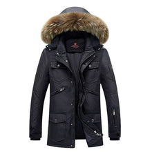 2017 Winter Down Jackets Men Long Thick Warm Coat Outwear New Fashion Brand Clothing Male 90% White Duck Down Jacket Coat X577