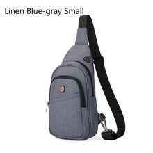 BALANG Men Casual Messenger Bag Fashion Shoulder Bag for Men Chest Pack Crossbody Sling Bag For Travel DayPack Male Waterproof