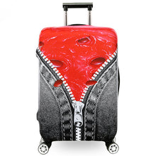 OKOKC US Dollar&Zipper Thickest Luggage Cover Travel Suitcase Protective Cover for 18-30'' Case Elastic, Travel Accessories